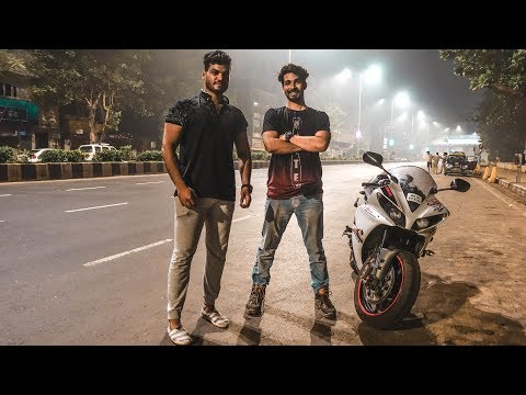 Night Ride Mumbai, Part -2 | Colaba | YAMAHA R1
