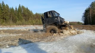 ГАЗ 66 и Suzuki Jimny ломают лёд полностью! GAZ 66 deep water offroad!(Live канал: https://www.youtube.com/user/MrPautini4 Instagram: https://instagram.com/combatcrew_igor/ Газ-66: http://www.drive2.ru/r/other/1119333/ Suzuki ..., 2016-04-10T15:10:41.000Z)