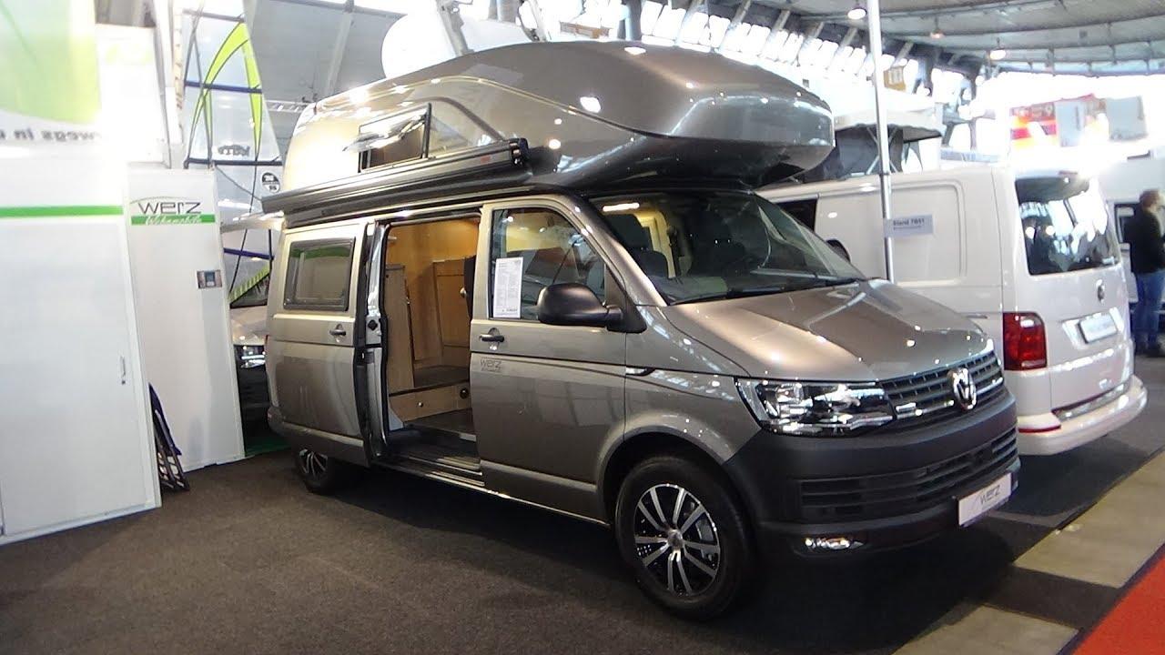 California Rv Show >> 2018 Werz VW T6-Exclusive - Exterior and Interior - Caravan Show CMT Stuttgart 2018 - YouTube
