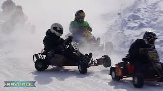 "Winter Karting ""Svobodny"" raw footage 04.03.2018"