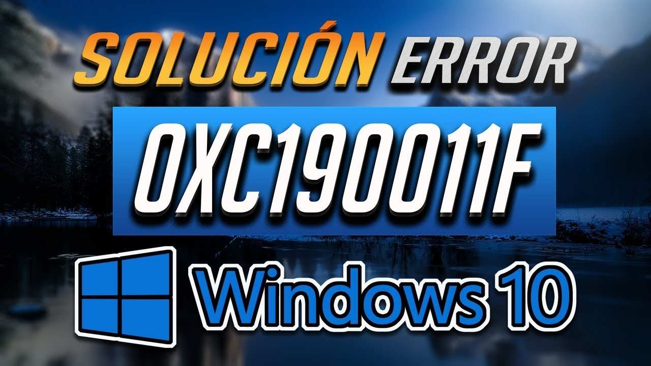 Fix Windows Update Error 0xc190011f in Windows 10 [6