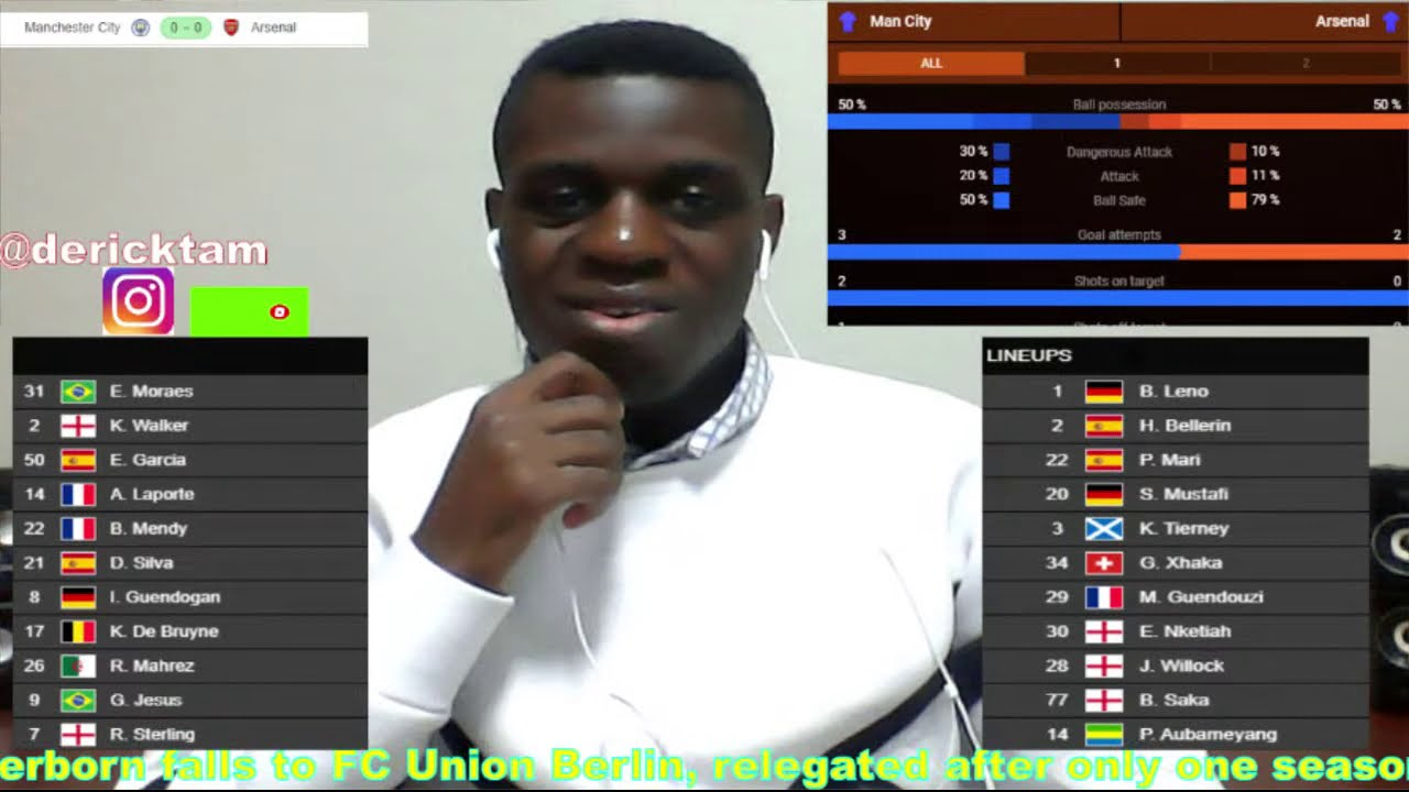 Manu Vs Man City Live