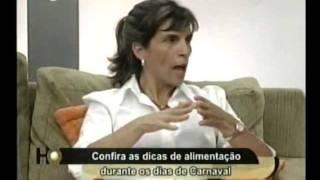 Cuidados com a Alimentação no Carnaval - Holofote - Cristina Trovó - Parte 1
