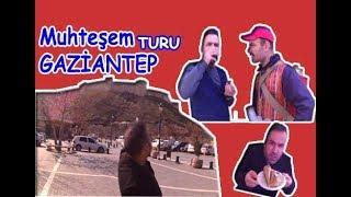 GAZİANTEP TURU YAPTIK BAKLAVA VE BEYTİ KEBAP MUHTEŞEMDİ!!!