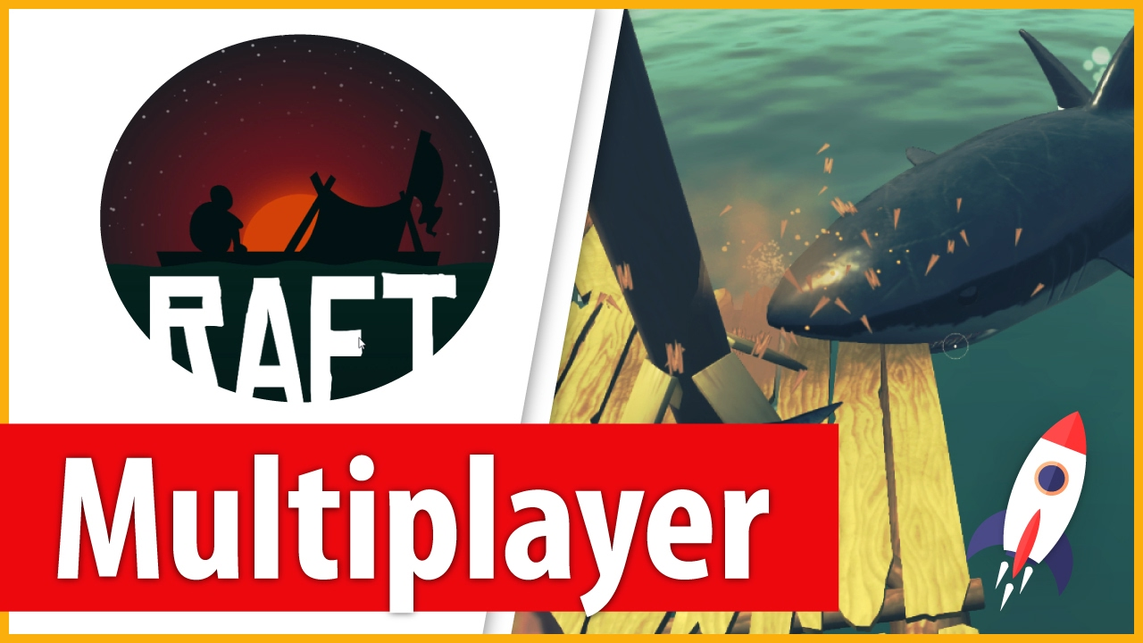 How to Play Raft Multiplayer Free - How to Install Raft Multiplayer MOD -  Download Complete