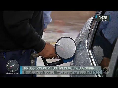 Motorista buscam alternativas para o alto preço da gasolina | SBT Brasil (19/05/18)