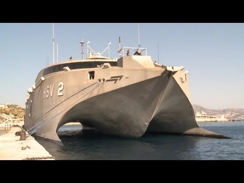 HSV-2 Swift In The Suez Canal