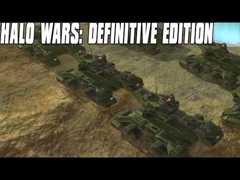 Halo Wars: Definitive Edition Gameplay Grizzly Tank