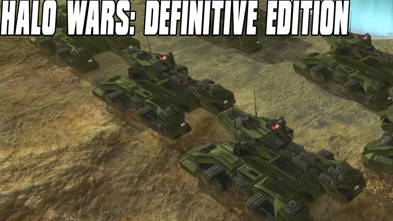 Halo Wars: Definitive Edition Gameplay Grizzly Tank Onslaught