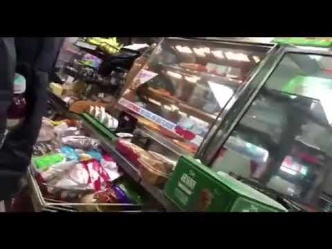 RACIST WOMAN GOES OFF ON GAS STATION WORKER