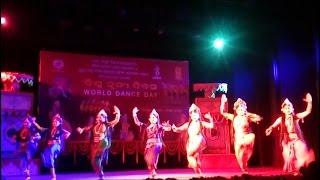 "Odissi Dance ""Devi"" By Guru Kelu Charan Mohapatra Odissi Gabesana Kendra Bhubaneswar."