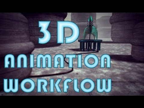 3D ANIMATION WORKFLOW