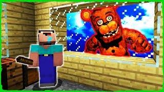 Minecraft FNAF - NOOB vs FREDDY (Animatronic Trolling)