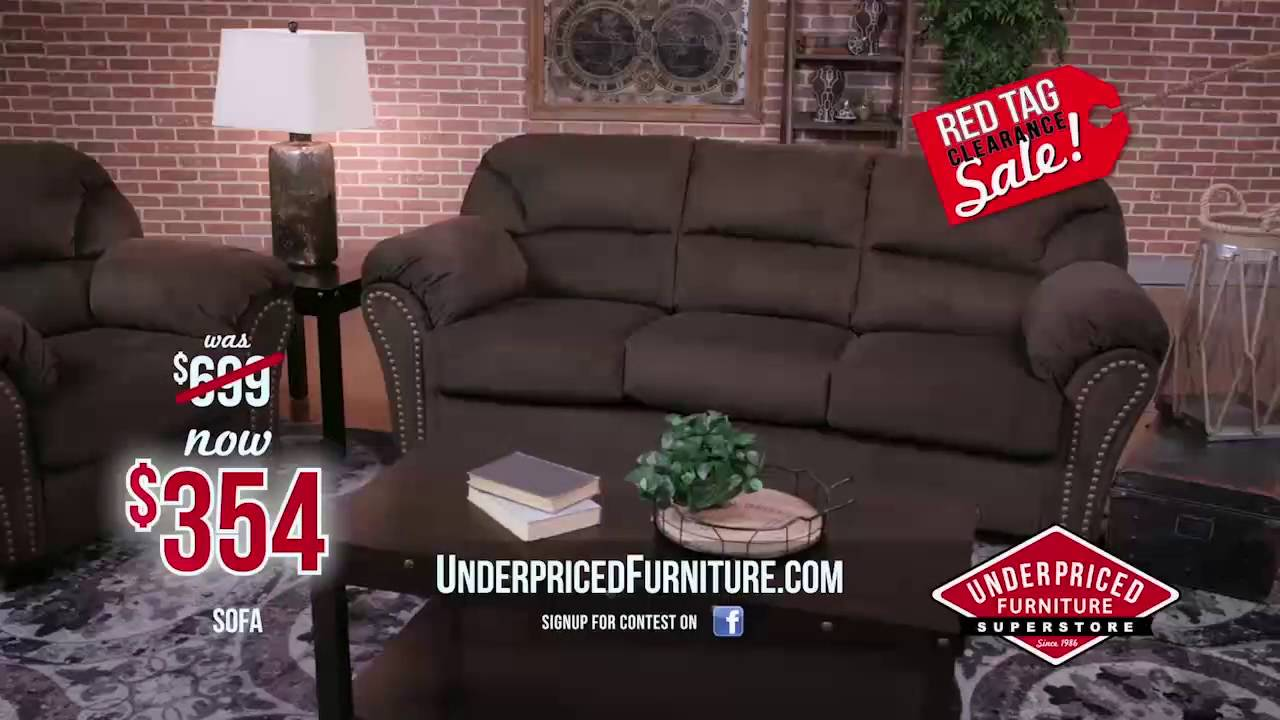 Red Tag Clearance Sale   Underpriced Furniture