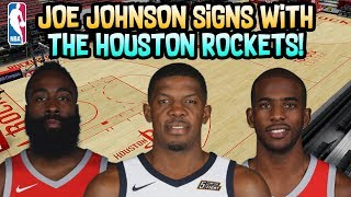 JOE JOHNSON SIGNS WITH THE HOUSTON ROCKETS! CAN HE BE A FACTOR? NBA SIMULATION