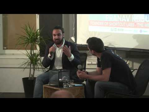 Pranav Kosuri, co-founder of Shortcut Labs (Flic) @ Startup Grind Stockholm