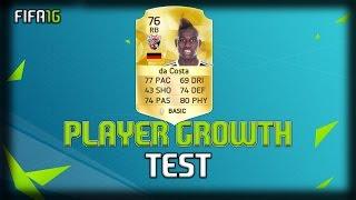 FIFA 16 | Danny da Costa (RB)| Growth Test