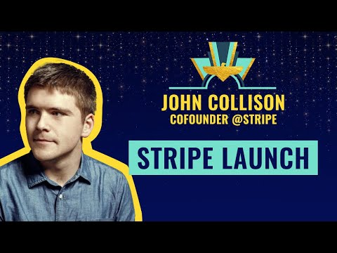 Stripe Launch @ TheFamily with John Collison, Co-Founder