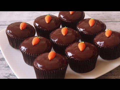 คัพเค้กช็อคโกแลตแลต Chocolate Cupcakes l ครัวป้ามารายห์
