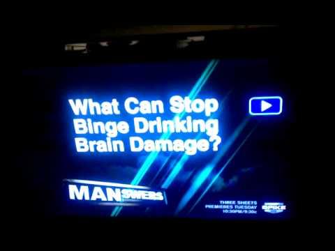 What can stop binge drinking brain damage