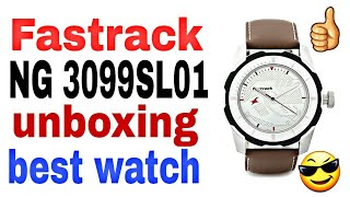 Fastrack NG 3099SL01 watch unboxing and review