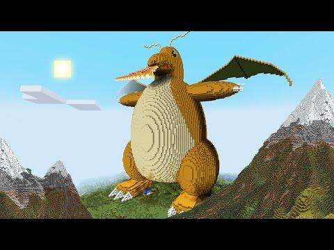 Download Youtube: Minecraft vs Pokemon go   GIGA DRAGONITE!!   (PvZ/Pokego Land)