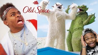 REACTING TO Myself In An Old Spice COMMERCIAL