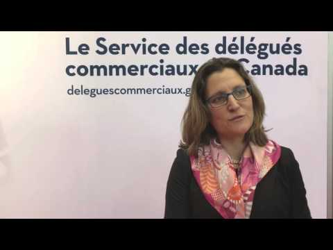 Minister Freeland - International Women