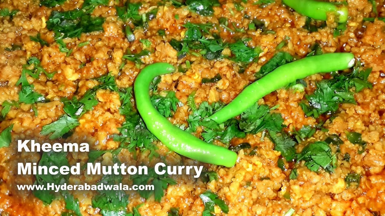 Kheema minced mutton curry recipe video easy simple quick kheema minced mutton curry recipe video easy simple quick hyderabadi cooking english youtube forumfinder Choice Image
