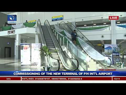 Buhari Commissions New Terminal Of Port-Harcourt Int'l Airpo