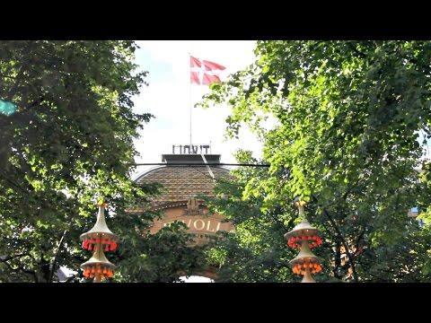 Summer in Tivoli Gardens, Copenhagen