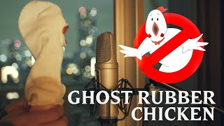 GhostBusters Theme Song | Rubber Chicken Cover 【Chickensan】