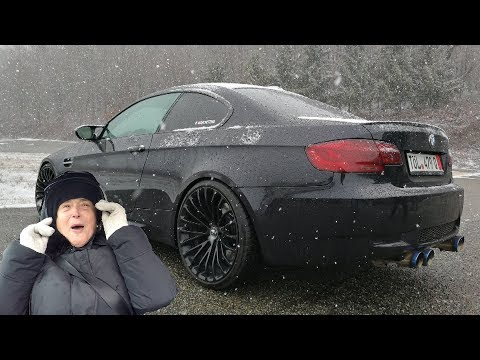 Grandma's Reaction to the SIDEWAYS BMW M3! [Sub ENG]