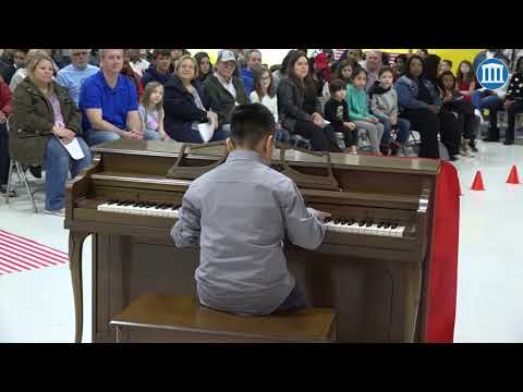 Self-Taught Pianist Takes Center Stage At Tibbott Talent Show