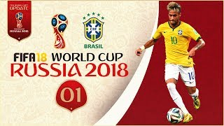 FIFA 18 World Cup - BRAZIL AT RUSSIA 2018 - GROUP STAGE!! [Legendary With Sliders]