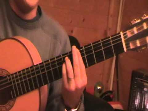 Gypsy guitar chord baillo la pena accord baillo la pena (marc antony)