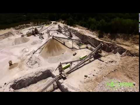 Franklin Quarry Drone Video