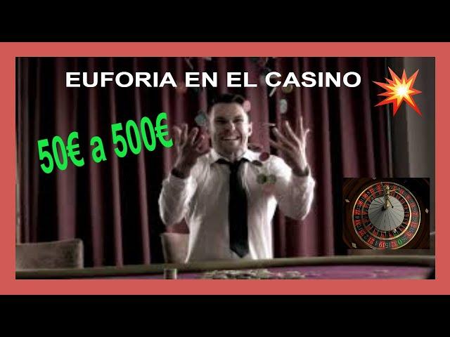 👑 Euforia en el Casino 50€ A 500€ 💰 Gran Victoria en la ruleta europea