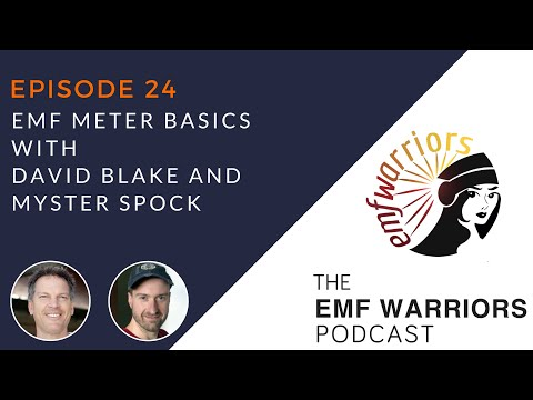 EMF Warriors 24 - EMF Meter Basics with David Blake and Myster Spock