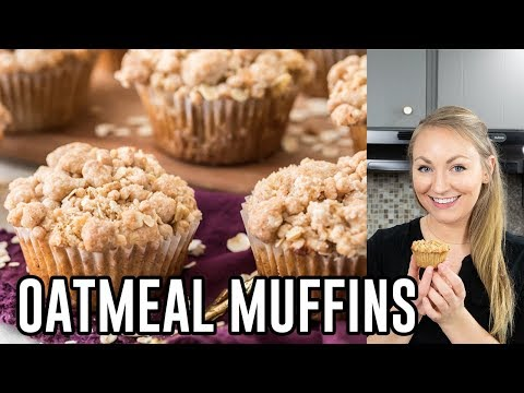 How To Make Oatmeal Muffins