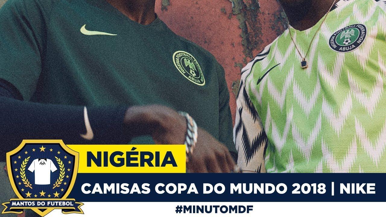 522f201c98378 Camisas da Nigéria Copa do Mundo 2018 | Nike - YouTube