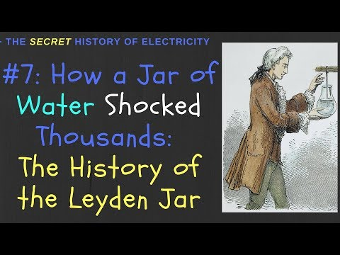 Invention of the Leyden Jar: How a Jar of Water Shocked Thousands