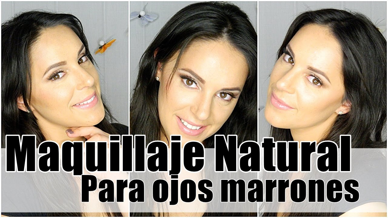 look fcil y natural para ojos marrones con silvia quirs gotymakeup youtube