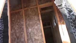 США 2529: В стены уложена теплоизоляция. Ждем инспекцию.