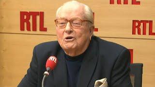Jean-Marie Le Pen était l'invité de RTL le 26 février 2018