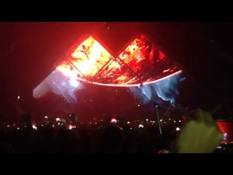 Alesso - Intro (All This Love) + Anthem (Live at Andes Special/Andes Arena 2016)