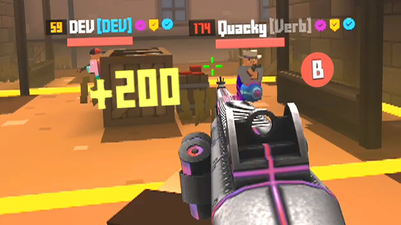 Download NEW MODE! How to LEVEL UP FAST in Krunker.io (DEV HACKS)