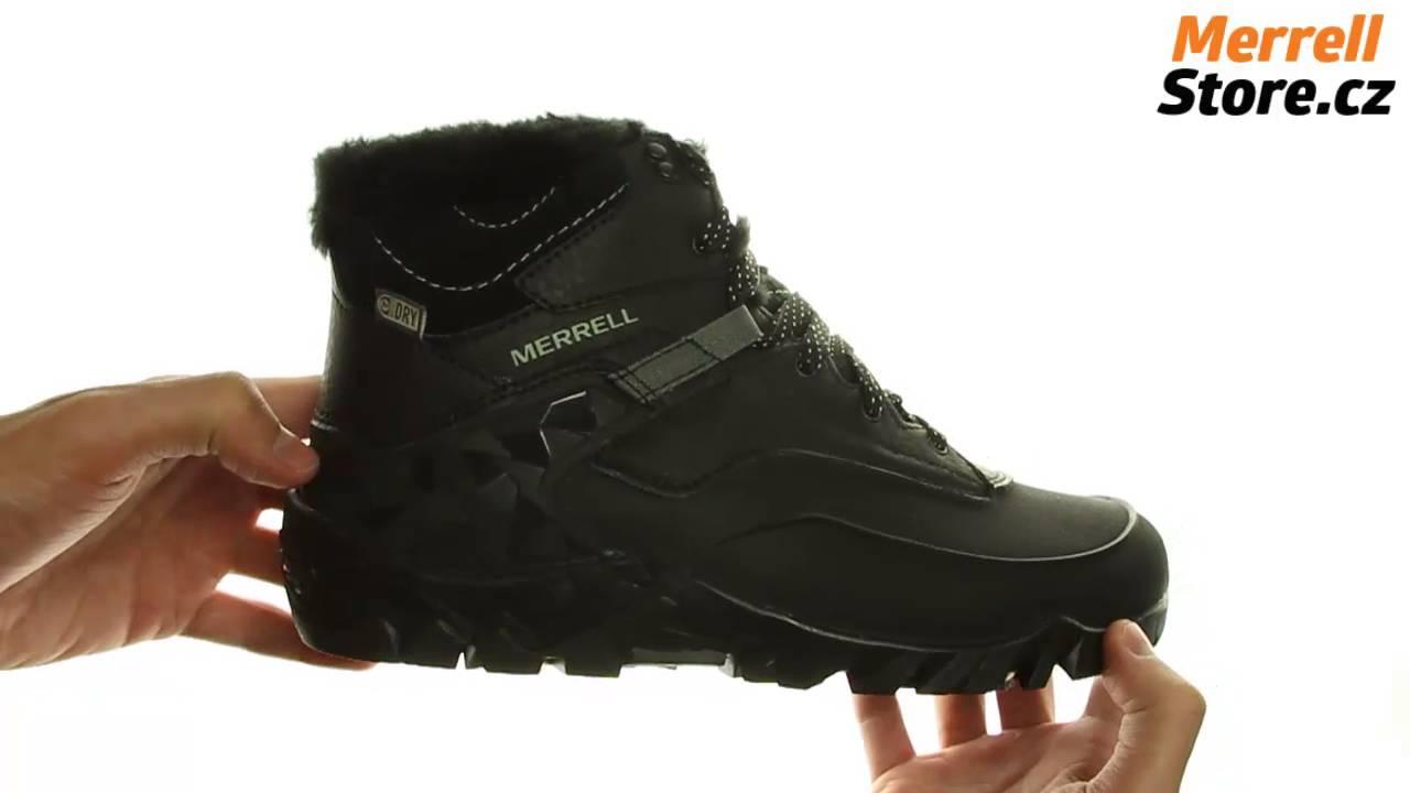 Merrell AURORA ICE WTPF - Winter boots - black zOBLq