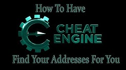 Have Cheat Engine Find Your Address Cheats For You For Any Game AOB To Data