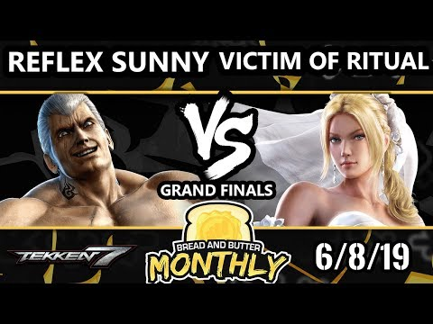 BnB 13 Tekken 7 - Victim Of Ritual (Nina) Vs. Reflex-Sunny [L] (Bryan) - T7 Grand Finals